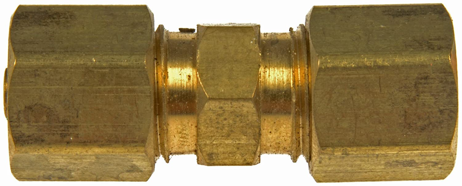 1//4 In Pack of 5 Dorman 800-221 Fuel Line Compression Union Steel Line