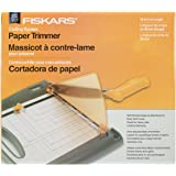 Fiskars 197300-1001 Paper Crafting Bypass Trimmer, 12-Inch