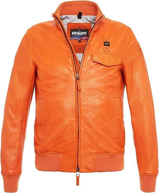 Blauer - Chaqueta - para hombre Naranja ARANCIO X-Large: Amazon.es: Ropa y accesorios