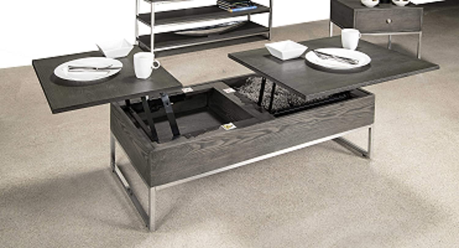 F3 Furniture Fashion Forward Grey Coffee Table With Dual Lift Top 3510 30 Amazon Ca Home Kitchen