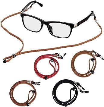 Anti Slip Glasses Holder Strap for Women Men Kids Adjustable Sports Sunglasses Chain Eyeglasses Retainer