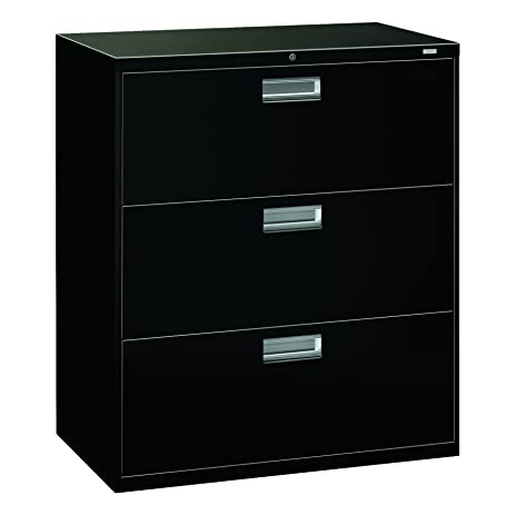 Amazon.com: HON Brigade 3-Drawer Filing Cabinet - 600 Series ...