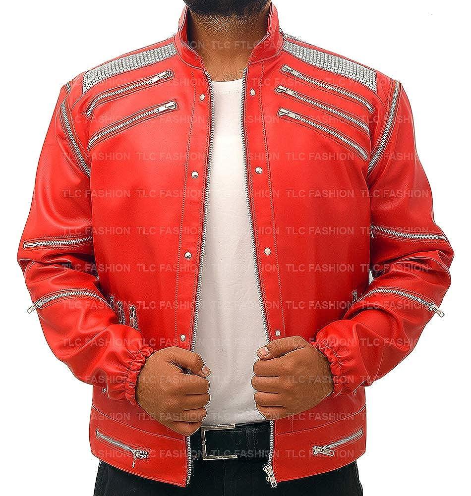 TLC Fashion MJ Beat It - Chaqueta Cordura de Michael Jackson Thriller, Talla XXS-3XL