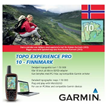 Garmin TOPO Norway Experience Pro 10 Finnmark: Amazon co uk: Electronics