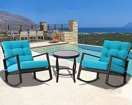Amazon.com: Oakmont Patio Furniture - Juego de 3 sillas ...