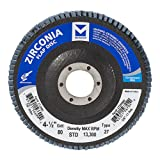 Mercer Industries 272080 Zirconia Flap Disc, Type