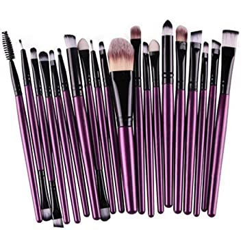 Amazon.com  12 15 20 6 4Pcs Eye Makeup Brushes Kit Women Eyeshadow Powder  Eyeliner Blending Brush Eye Shadow Brushes Set  Beauty a5ef50de2