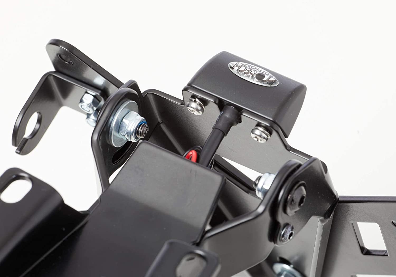 Protech X Shape Kennzeichenhalter Kompatibel Mit Kawasaki Z900 2017 2019 Zr900b D Auto