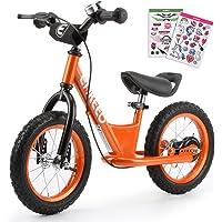 [Nouvelle Version] Draisienne Vélo Enfant 12'' pour Les Enfants de 2-6 Ans, Cadre en Acier au Carbone, Guidon réglable et Seat, capacité de 50kg,Cadeau Noel