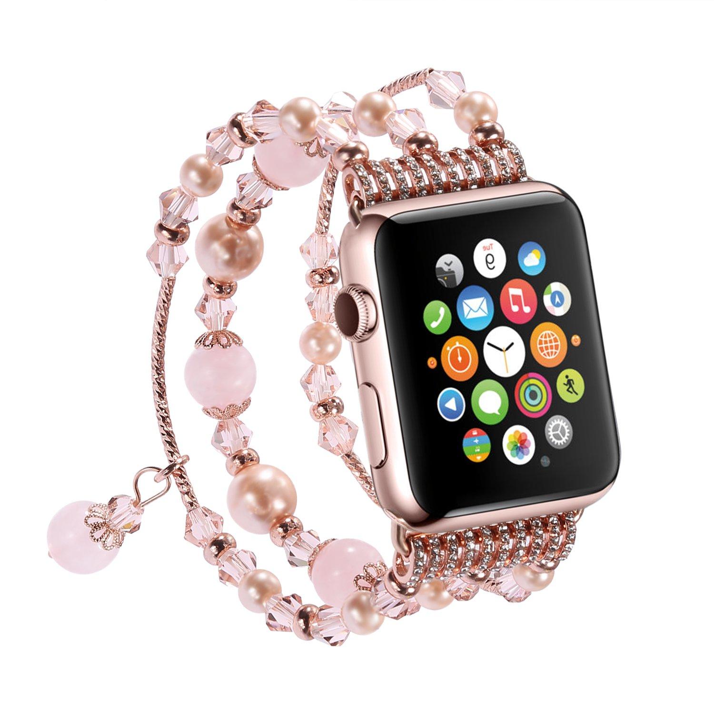 Amazon.com: V-Moro Apple Watch Band 38mm Women - Fashion