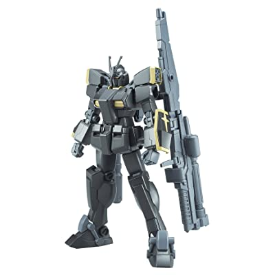 Bandai Hobby Gundam Build Fighters: Lightning Black Warrior 1:144 Scale Model Kit: Toys & Games