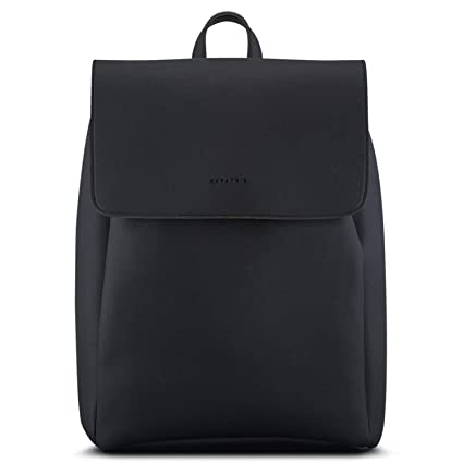 """7b5d8ec21a Backpack Women Black - Expatrié """"Noelle"""" Rucksack made from Vegan Leather -  Small High"""