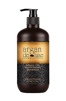 Arganöl Shampoo in Friseur-Qualität ? stark pflegend ? Geschmeidigkeit, Glanz, toller Duft ? Argan DeLuxe, 300ml