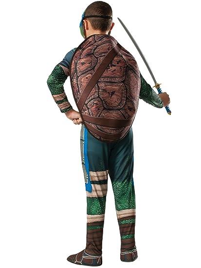 Amazon.com: Big Boys Ninja Turtle Movie Leonardo Costume ...