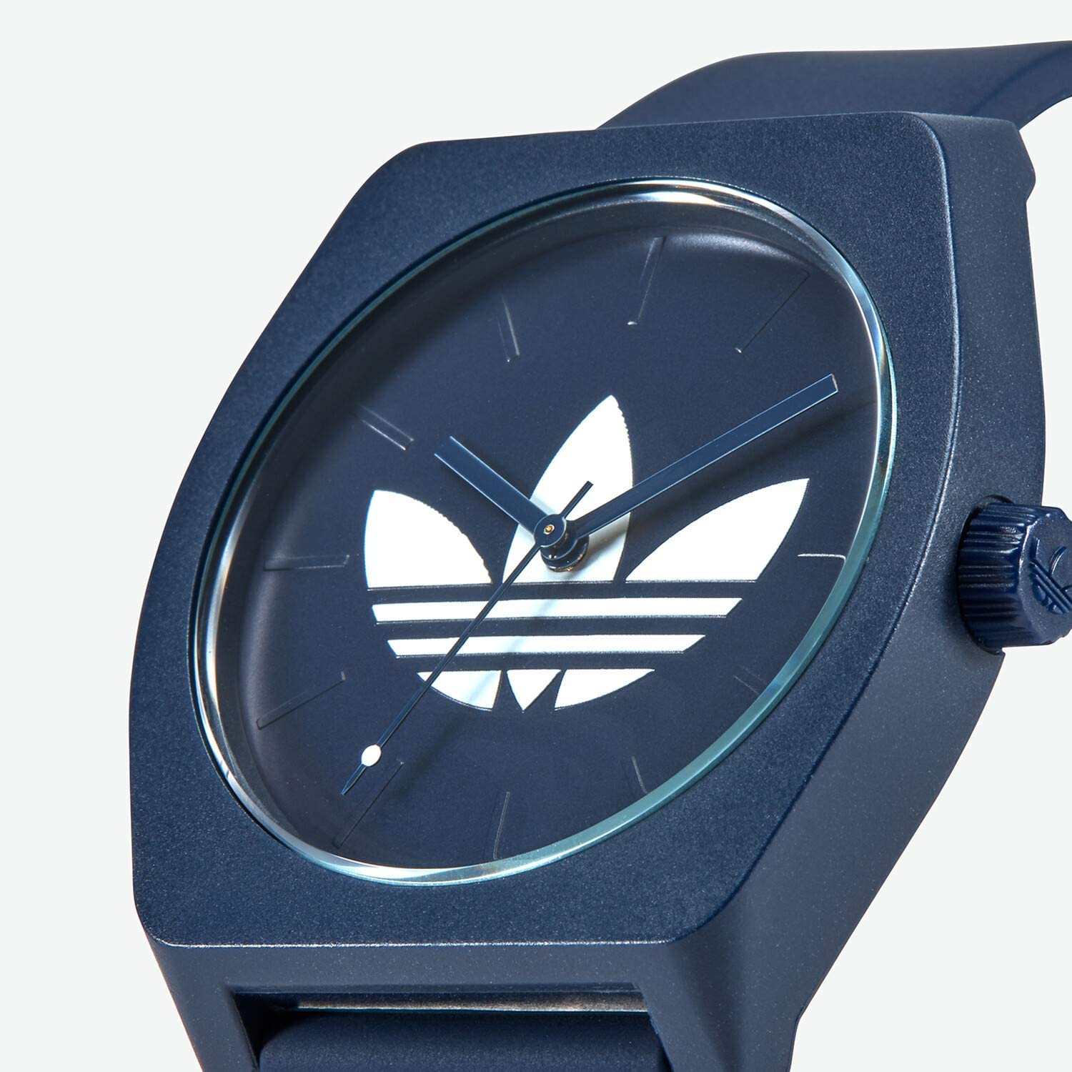 adidas Watches Process_SP1. Silicone Strap, 20mm Width (38 mm). Collegiate Navy