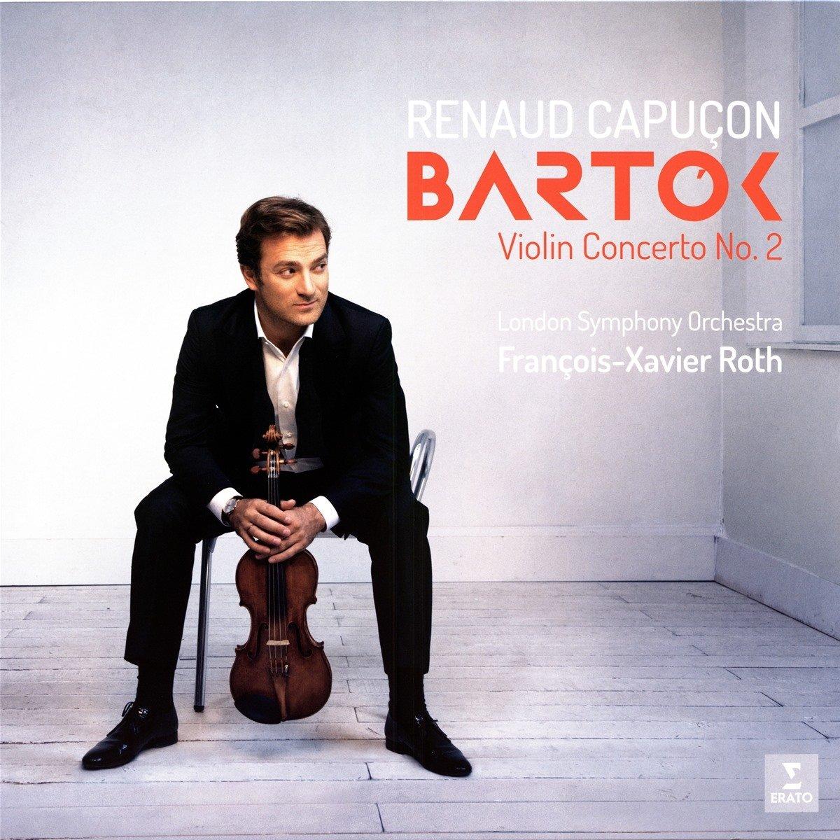 Vinilo : Renaud Capucon - Bartok: Violin Concertos Nos. 1 & 2 (LP Vinyl)
