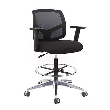 Thornton's Mesh Drafting Chair