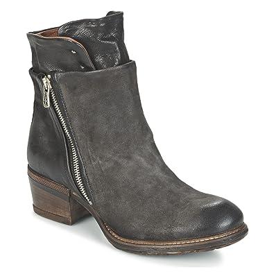 buy online 71379 4a35d Airstep / A.S.98 Corn Stiefelletten/Boots Damen Grau Boots ...