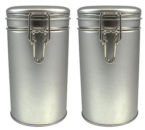 Kanister Set Vorratsdosen Mit Luftdichten Deckeln U2013 Küche Kanister Für Tee  Kaffee Zucker, Fallbiss Tee