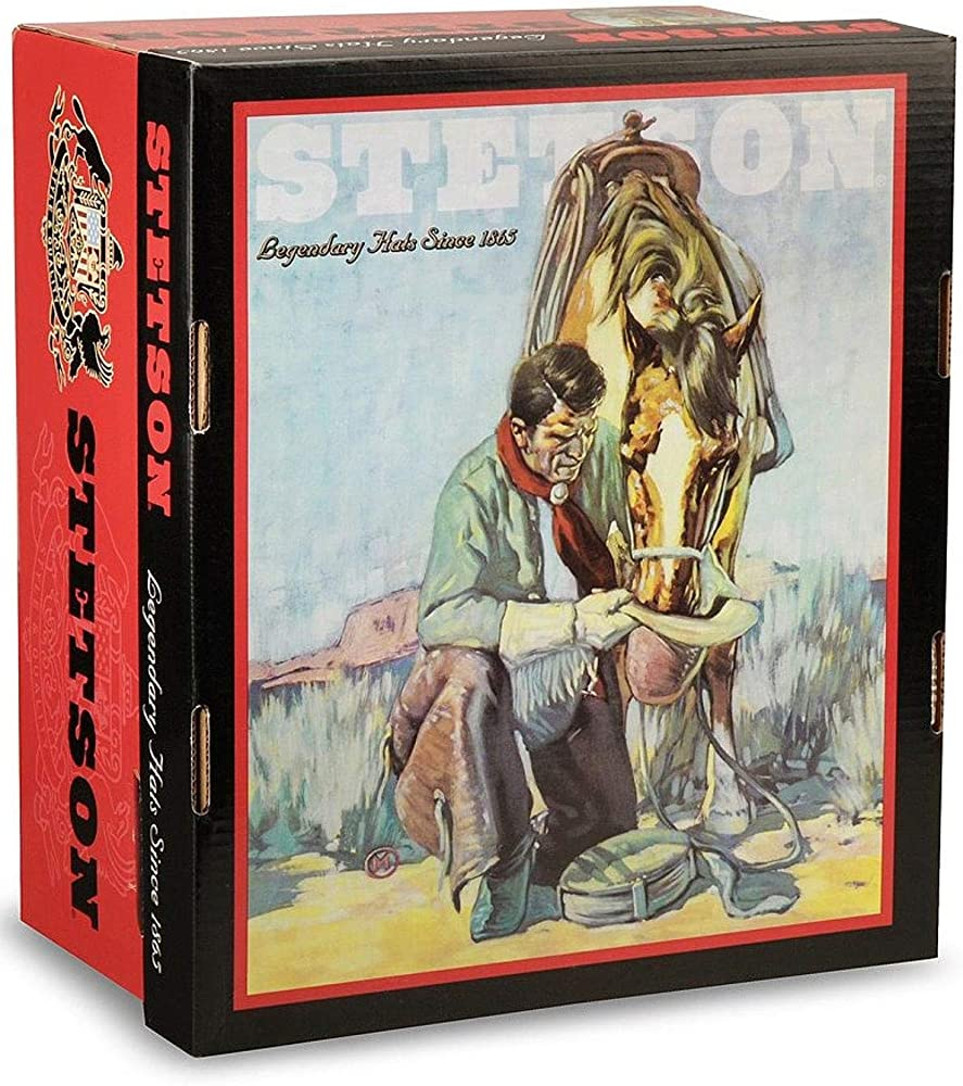 Stetson 6X Gus Fur Felt Cowboy Hat SFGUSS-504061 Silver Belly