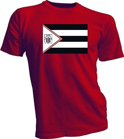 ALIANZA LIMA Peru Futbol Soccer Flag Banner RED T-SHIRT Camiseta NEW Size s-