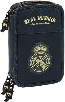 Real Madrid CF 411934057 Estuche, Niños Unisex, Negro: Amazon.es: Juguetes y juegos