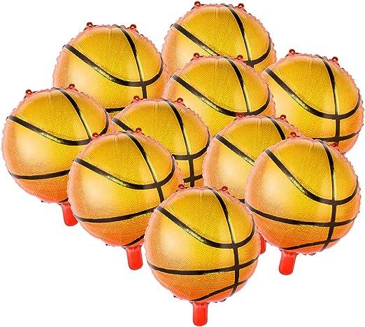 Amosfun 10 unids 18 Pulgadas Balones de Baloncesto Papel de ...