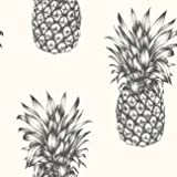 Tropics Copacabana Pineapple Wallpaper