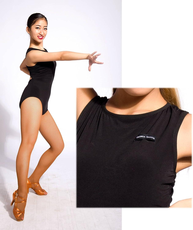 SCGGINTTANZ G1042 Profesional Tops de Danza Latino Latin Moderno Baile para Mujeres