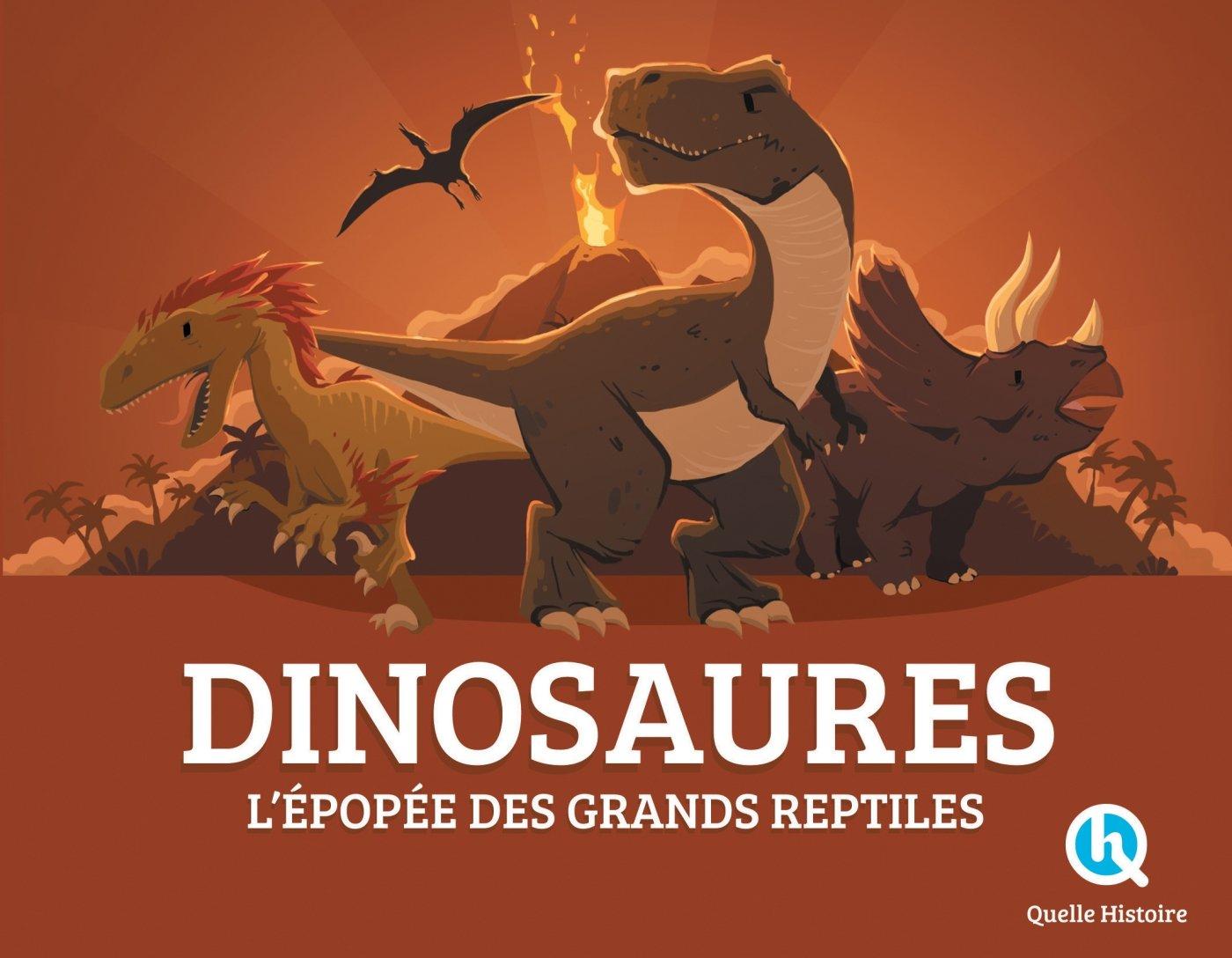 Dinosaures Album – 1 janvier 2017 Clémentine V. Baron Bruno Wennagel Mathieu Ferret Quelle Histoire Editions