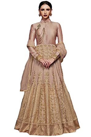 873923291d35 Amazon.com  ziya Indian Pakistani Designer Long Gown Type Style Wear ...