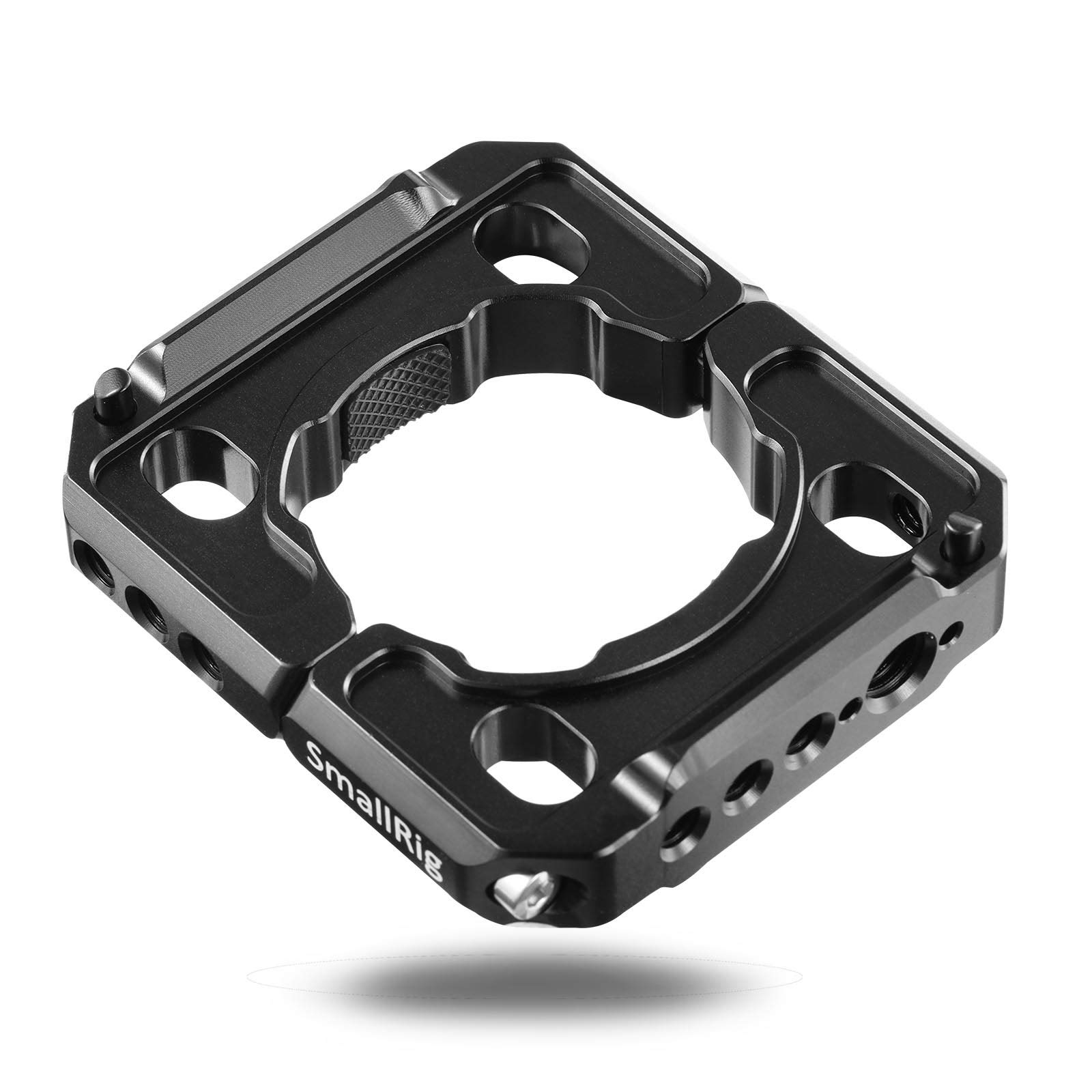 SMALLRIG Rod Clamp Ring Extension Mounting Ring Compatible with DJI Ronin S Gimbal Stabilizer for DSLR Camera w/NATO Rail, 1/4'' Threaded Holes and 3/8'' Locating Holes for ARRI Standard - 2221 by SMALLRIG