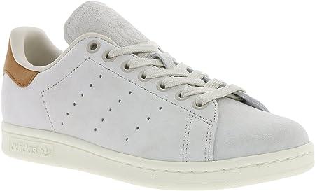 adidas da Uomo Stan Smith BB0042 Sneaker, Uomo, BB0042, WhiteBrown, Size UK 4.5
