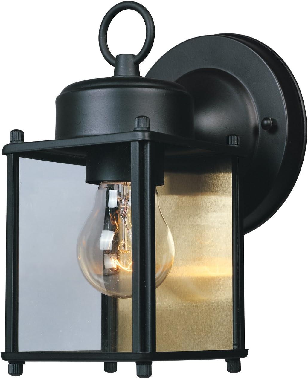 "1103-PW Designers Fountain Beveled Glass Lantern 7/"" Wall Lantern Pewter"