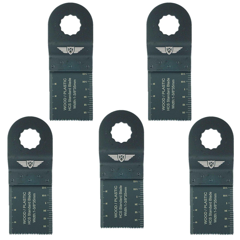5 x 35 mm Topstools RV35 F _ 5 lame a denti fini per Draper 23038 MT250 A, MT250 31328, Wickes 235510, Renovator multiuso attrezzo multiuso accessori MT25031328