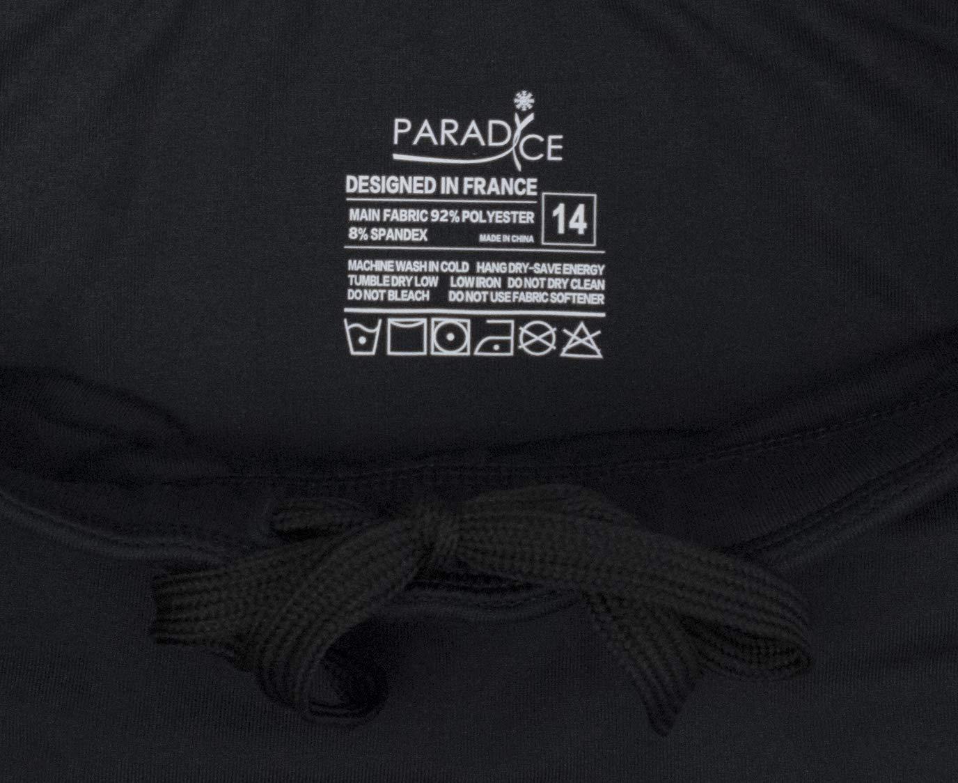 PARADICE WORLD BY SKATER FOR SKATERS Legging Taille Haute et Couvre-Talon pour Le Patinage Artistique.