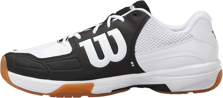 Wilson Recon Men's Indoor Court Shoe Black/white: Amazon.ca: Sports &  Outdoors