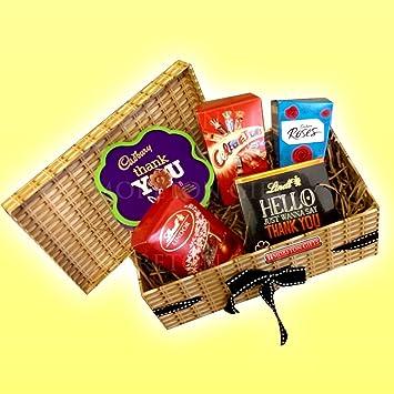Lindt Cadbury Mars The Best Thank You Gift Ever! - Chocolate H&er Box & Amazon.com : Lindt Cadbury Mars The Best Thank You Gift Ever ...