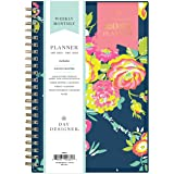 "Day Designer for Blue Sky 2021 Weekly & Monthly Planner, Flexible Cover, Twin-Wire Binding, 5"" x 8"", Peyton Navy (103620…"