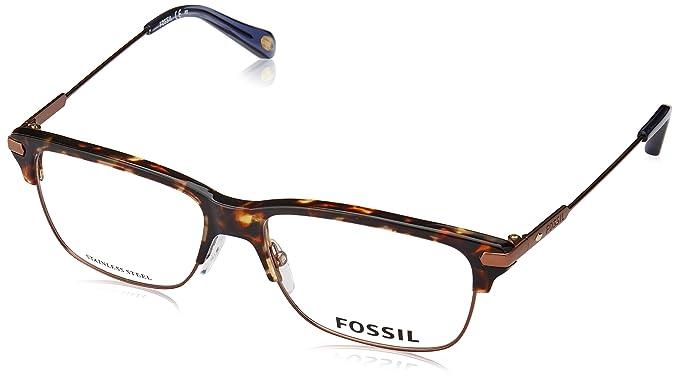 0329c8f62d6 Fossil Fosil 6056 0OIS Matte Brown Havana Eyeglasses  Amazon.ca ...