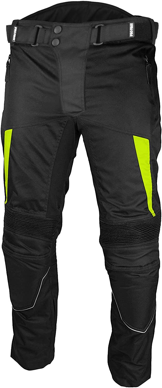 REXTEK Tuta da motociclista impermeabile Tuta da motociclista da motociclista Tuta da motociclista 2 pezzi Tuta da motociclista da allenamento All Weather Wearing Suit Armatura CE per Uomo Ragazzi