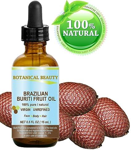 Aceite de buriti de frutas brasileño 100% natural/frío Pur aceite pressée/Non