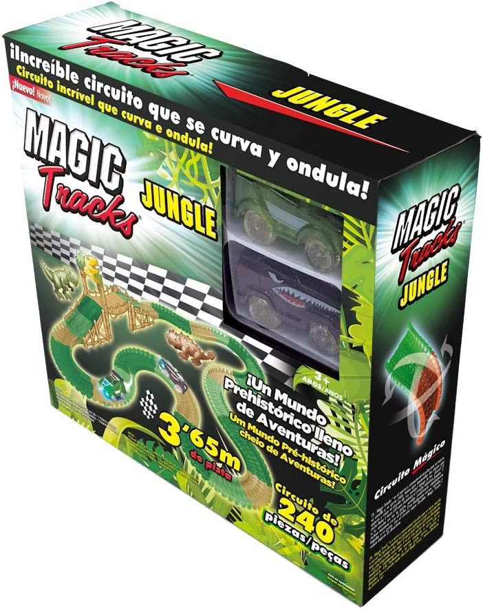 Magic Tracks Jungle, Circuito del Parque jurásico.