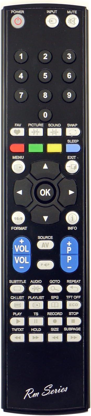 RM Series Reemplazo Mando a Distancia para BLU-SENS H305MCRST2B22PSP: Amazon.es: Electrónica