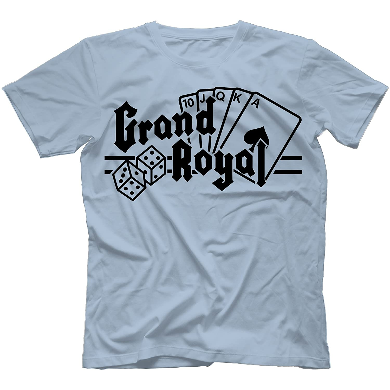 1de50250 Grand Royal Records T-Shirt 100% Cotton, Light Blue, Small: Amazon.co.uk:  Clothing