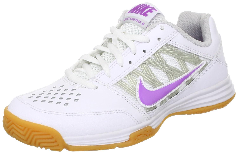 preparar Compulsión Red de comunicacion  Buy Nike Court Shuttle V Women's Tennis SHOES-525765-104-SIZE-5 UK at  Amazon.in