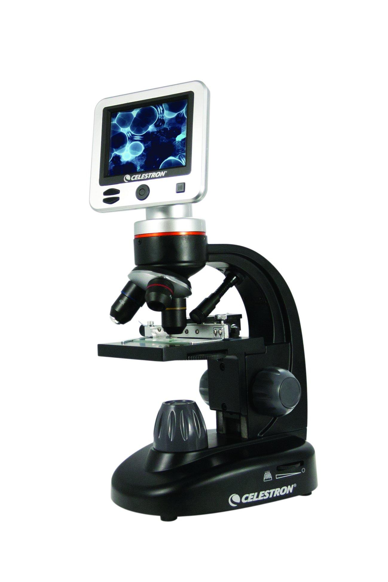 Celestron 44341 LCD Digital Microscope II (Black) by Celestron