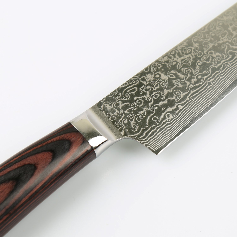 laukingdom damascus chefs knife 8 inch japanese vg10