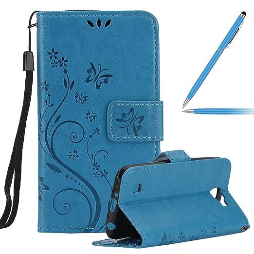 30 opinioni per Custodia LG K4, LG K4 Custodia Libro, LG K4 Cover in Pelle, Felfy Elegante Moda