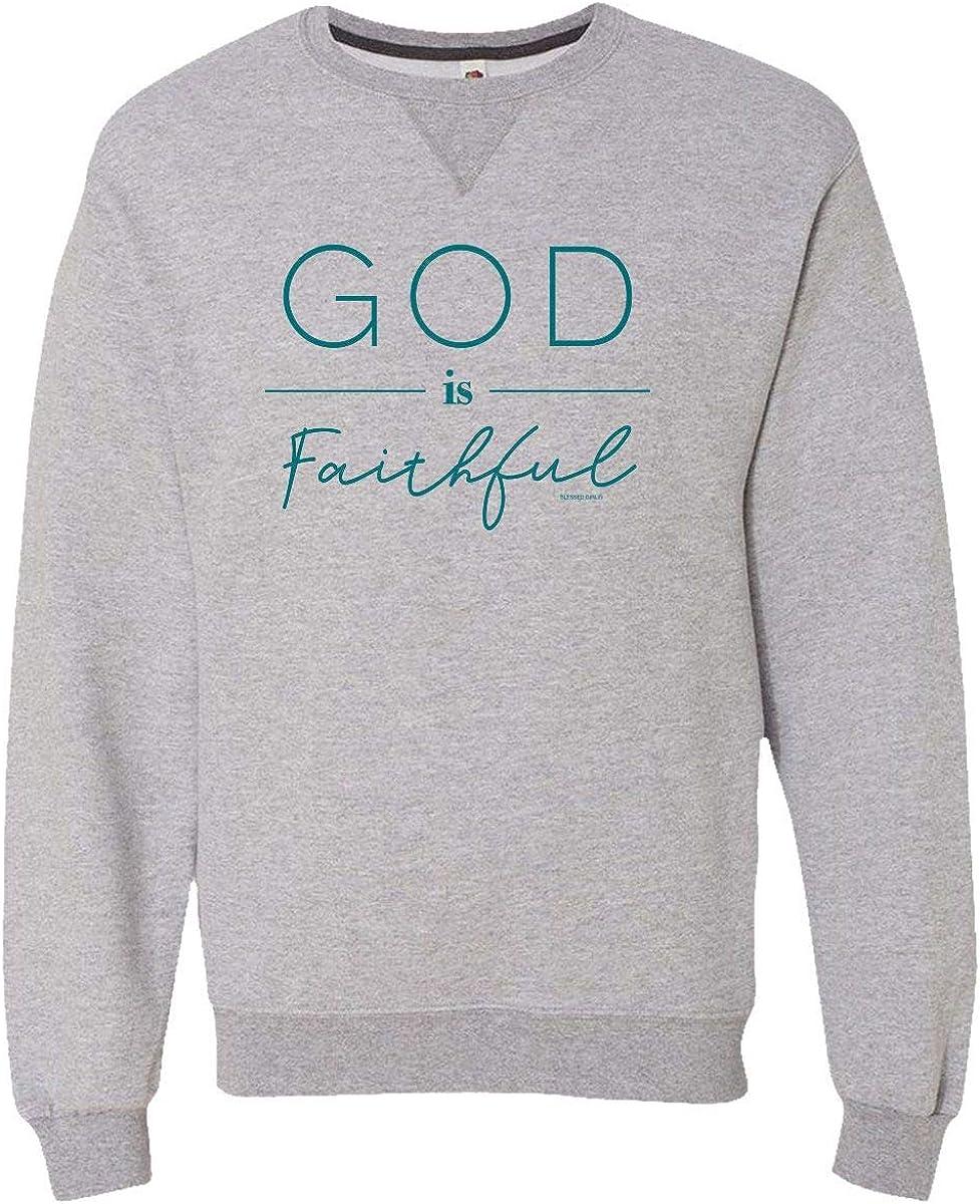 Blessed Girl Womens Sweatshirt Heather Faithful Athletic